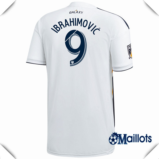 Maillot foot Galaxy Domicile 9 Ibrahimovic 2018