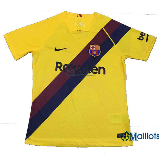 Maillot football Barcelone Jaune 2019