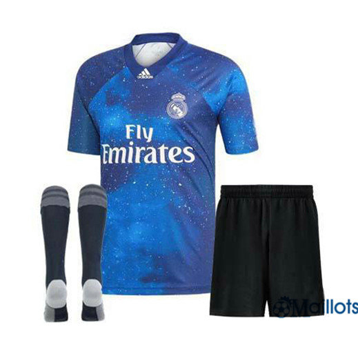Ensemble Maillot foot Junior EA Sports Real Madrid 2018