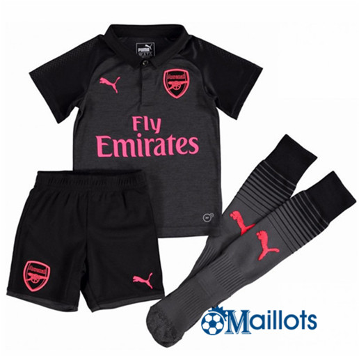 Ensemble foot Arsenal Third Enfant 2017 2018