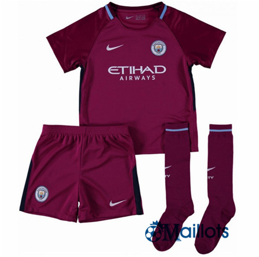 Ensemble foot Manchester City Enfant Exterieur 2017 2018