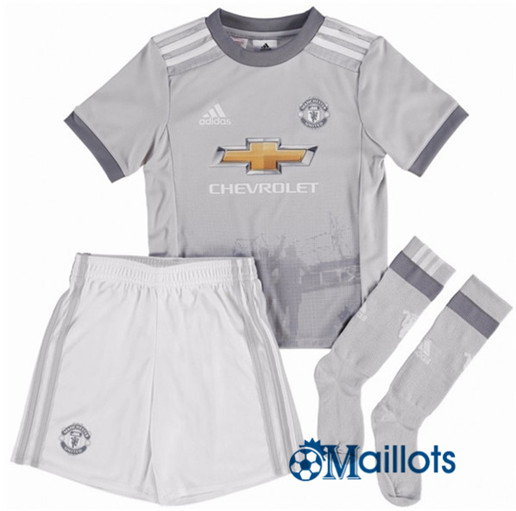 Ensemble foot Manchester United Enfant Third 2017 2018