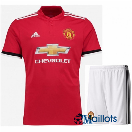 Ensemble foot Manchester United Junior Domicile 2017 2018