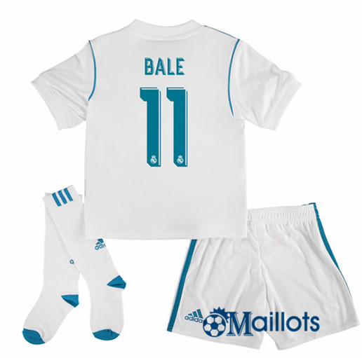 Ensemble foot Real Madrid Enfant Domicile Bale 11 2017 2018