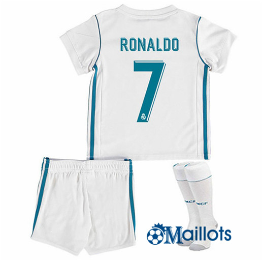 Ensemble foot Real Madrid Enfant Domicile Ronaldo 2017 2018