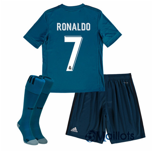 Ensemble foot Real Madrid Enfant Third Ronaldo 2017 2018