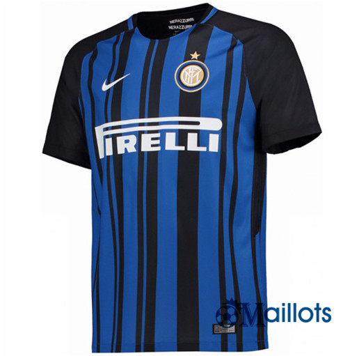omaillots maillot foot inter milan domicile 2017 2018 prix pas cher. Black Bedroom Furniture Sets. Home Design Ideas
