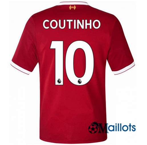 Maillot Liverpool Domicile COUTINHO 2017 2018