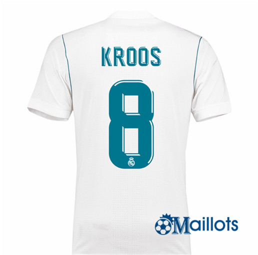 Maillot Real Madrid Domicile Kroos 8 2017 2018