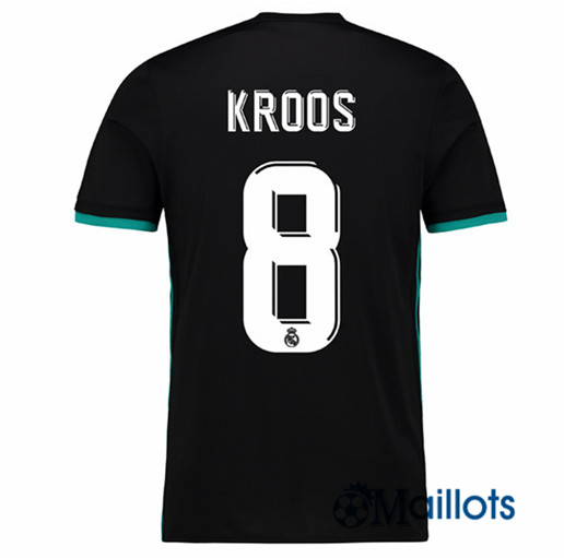 Maillots foot Real Madrid Exterieur Kroos 8 2017 2018