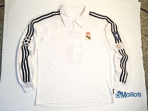 Maillot sport Vintage Real Madrid Manche Longue 2002-03