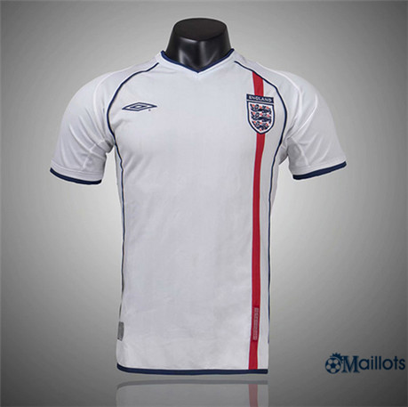 Maillot Rétro foot Angleterre Domicile 2002
