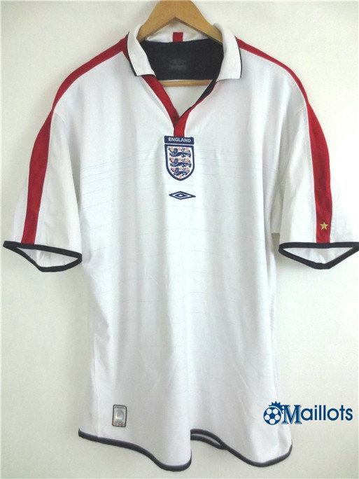 Maillot Rétro foot Angleterre Domicile 2004