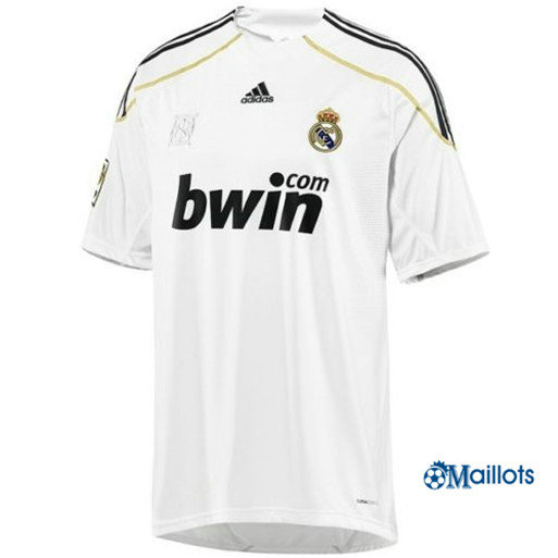 Maillot Rétro football Real Madrid Domicile 2009-10