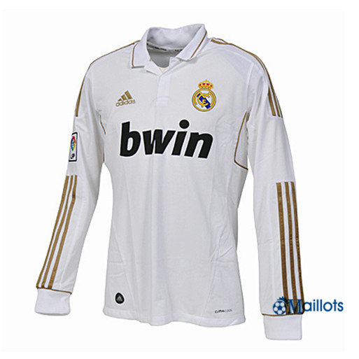 Maillot Rétro football Real Madrid Manche Longue Domicile 2011-12