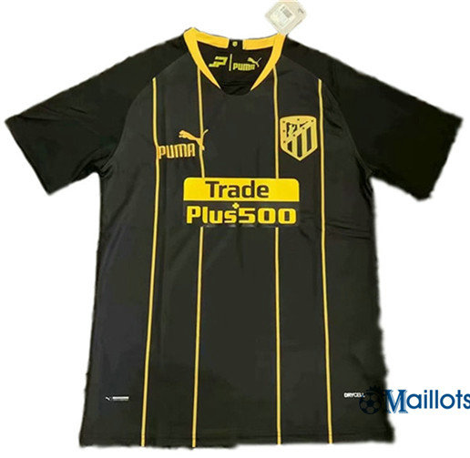 Maillot football Atletico Madrid Noir 2019 2020