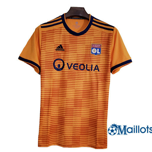 Maillot football Lyon Third Orange 2018-2019