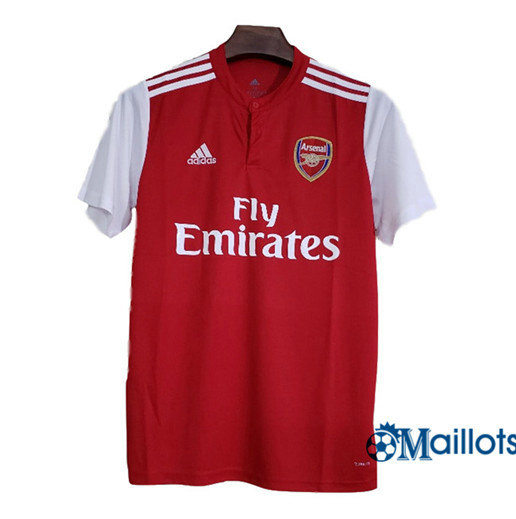 Maillot football Arsenal Domicile Rouge 2019 2020