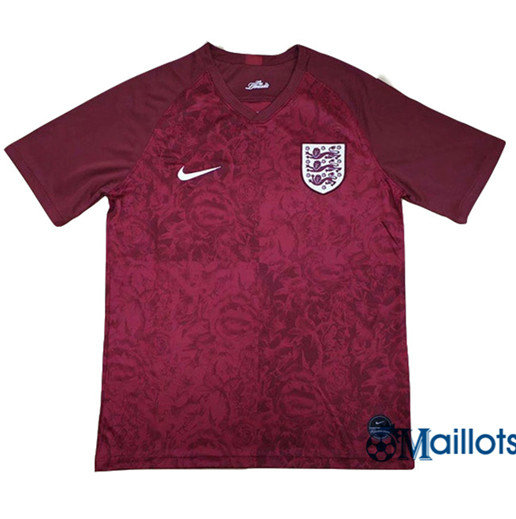 Maillot football Angleterre Exterieur Rouge 2019 2020