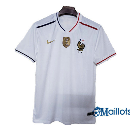 Maillot football France Exterieur Blanc 2019 2020
