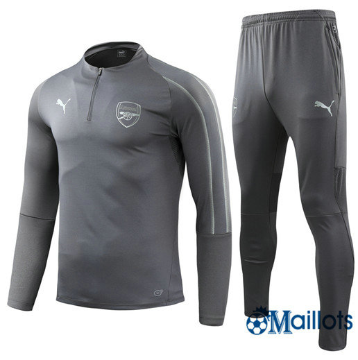 Survêtement Arsenal football Gris 2018 2019