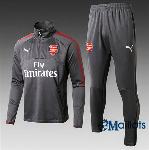 Eensemble Survêtement football Arsenal Gris 2017/2018