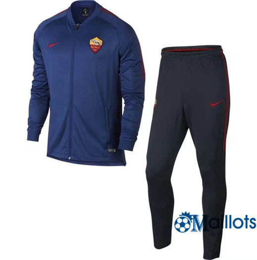 Veste Survêtement Foot - Ensemble AS Roma Bleu 2018/2019