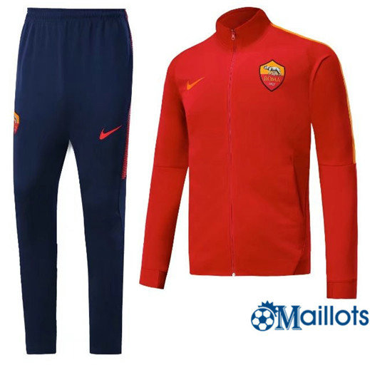 Veste Survêtement Foot - Ensemble AS Roma Rouge 2018/2019