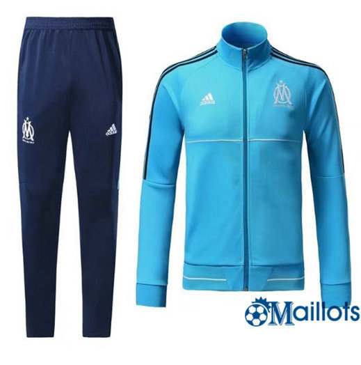 Veste Survêtement Foot - Ensemble Marseille blue 2017/2018