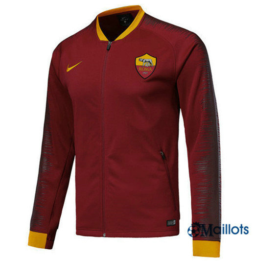 Veste Training AS Roma Rouge Strike Drill 2018/2019