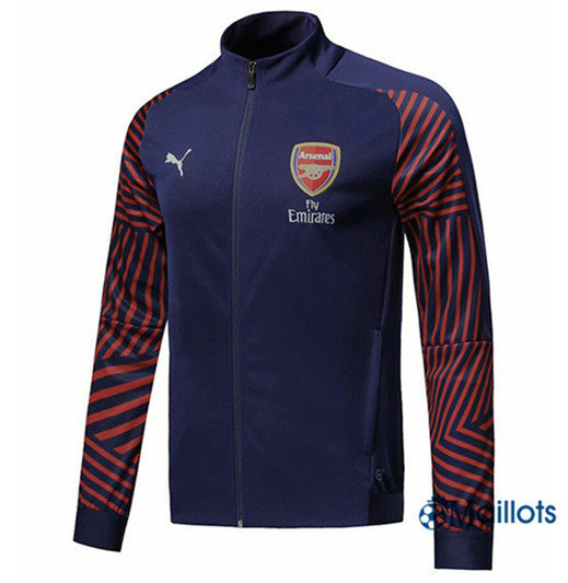 Veste Training Arsenal Bleu Marine Strike Drill 2018/2019