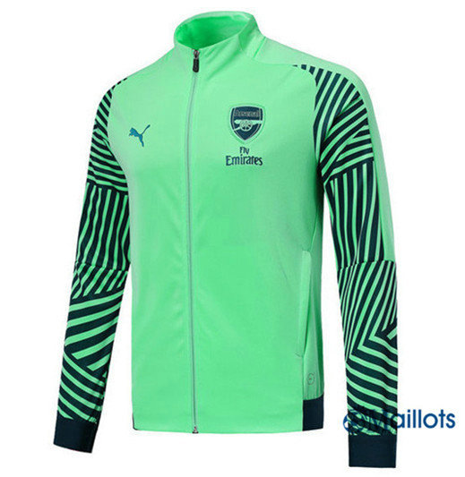 Veste Training Arsenal Bleu Vert Strike Drill 2018/2019