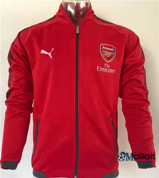 Veste Training Arsenal Rouge 2017/2018