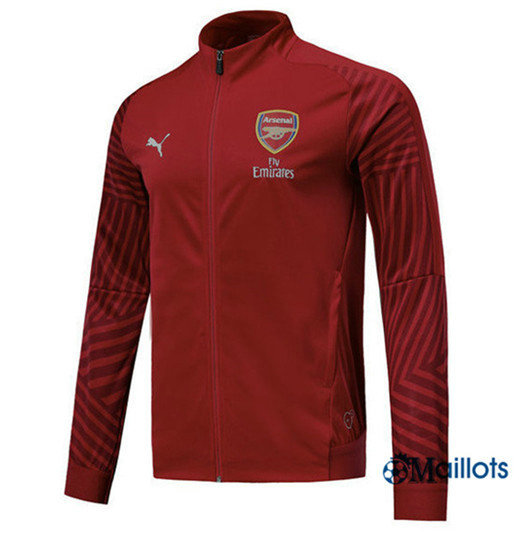 Veste Training Arsenal Rouge Strike Drill 2018/2019