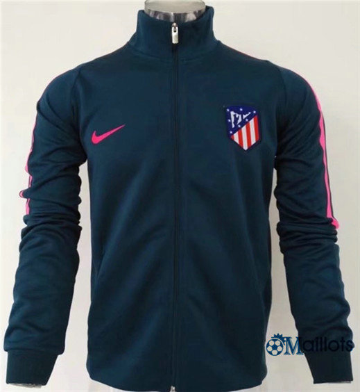 Veste Training Atletico Madrid Bleu Marine 2017/2018