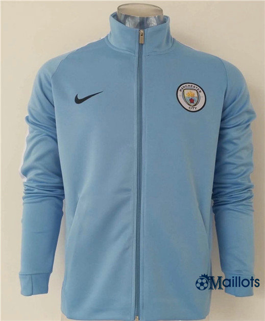 Veste Training Manchester City Bleu 2017/2018