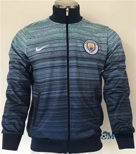 Veste Training Manchester City Bleu Marine 2017/2018