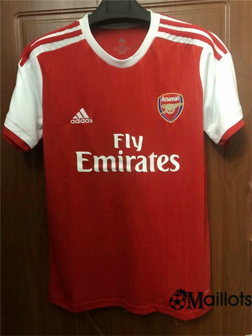 Maillot Football Arsenal Rouge Domicile 2019 2020
