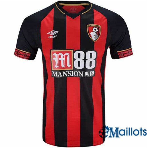 Maillot Football Bournemouth Rouge/Noir Domicile 2018 2019