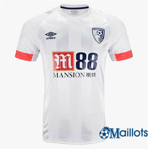 Maillot Football Bournemouth Blanc Extérieur 2018 2019