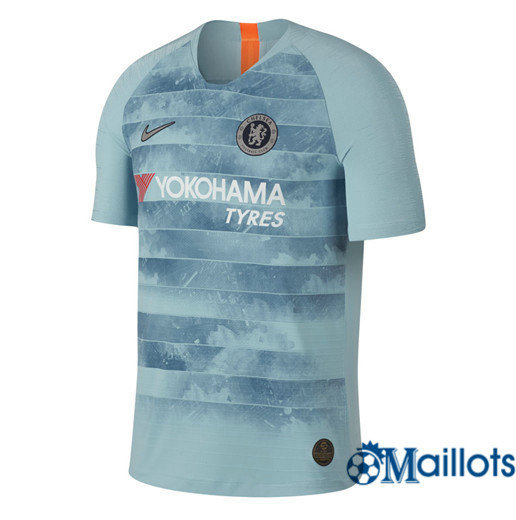 Maillot Football Chelsea Vapor Match Bleu Third 2018 2019