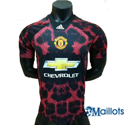 Maillot Football Manchester United Rouge EA Sports 2018 2019