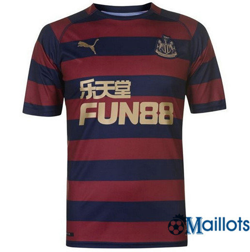 Maillot Football Newcastle United Bleu Extérieur 2018 2019