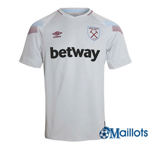 Maillot Football West Ham United Blanc Third 2018 2019