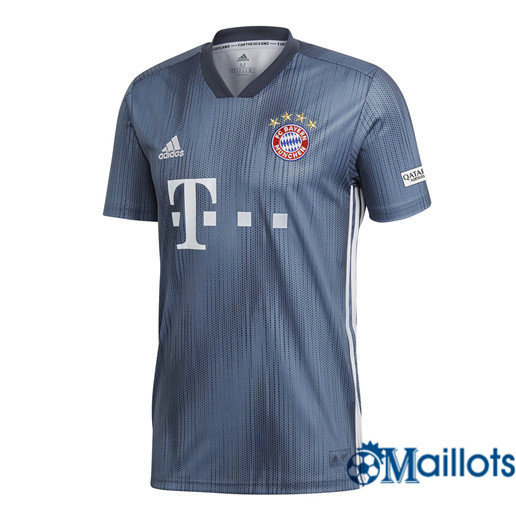 Maillot Football Bayern Munich Gris Third 2018 2019