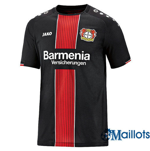Maillot Football Bayer 04 Leverkusen Noir/Rouge Domicile 2018 2019