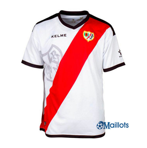 Foot Maillot sport Rayo Vallecano Blanc 2018 2019 Domicile