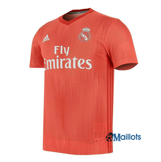 Football Maillot Real Madrid Rouge 1819 Third