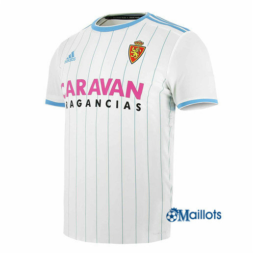 Foot Maillot sport Real Saragosse Blanc 2018 2019 Domicile