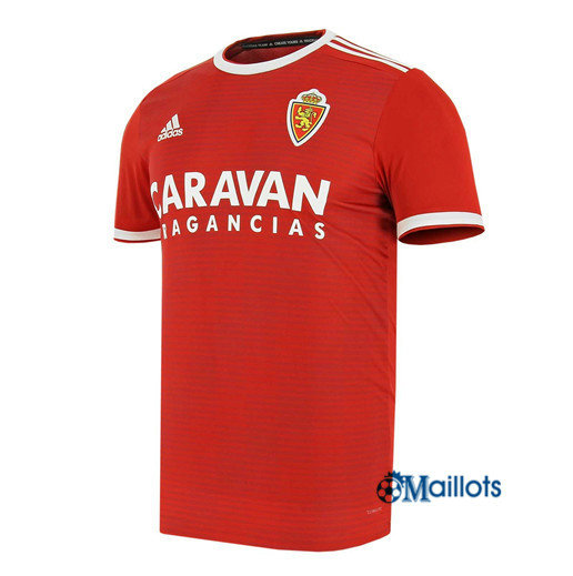 Football Maillot Real Saragosse Rouge 2018 2019 Exterieur